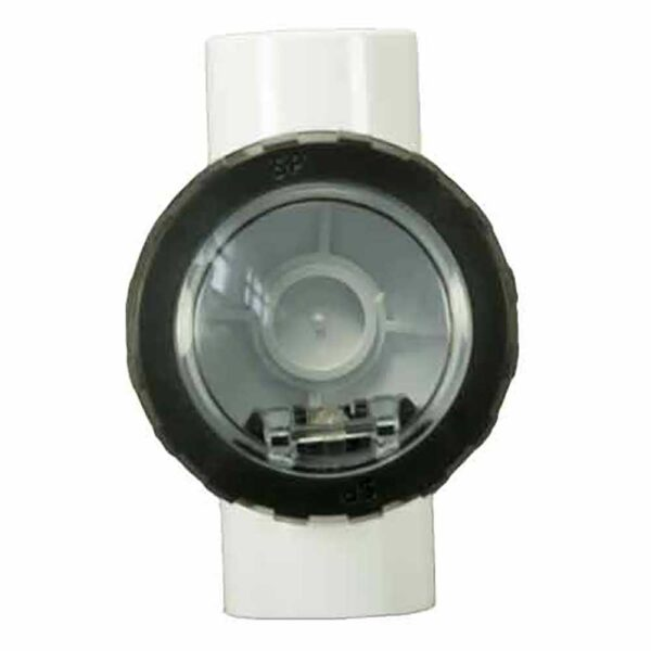 spa quip water check valve 40mm