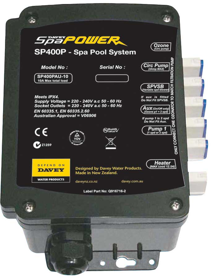 Davey SP SpaPower 400 Series 2 0 KW Heater Element