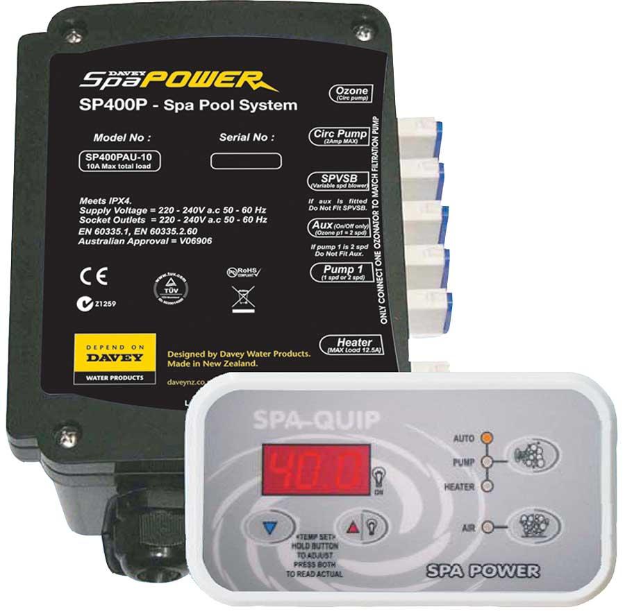 Davey Spa Quip SP400 Spa Power Heater Element Plus Parts