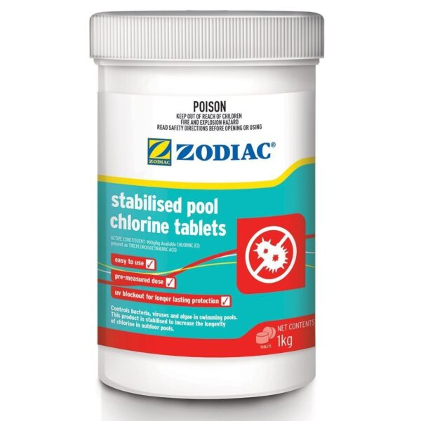 zodiac once a week tablets 1kg