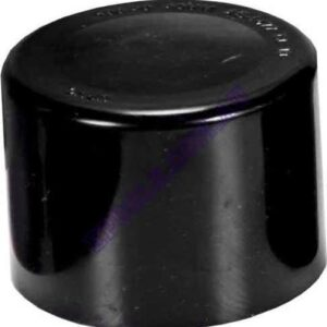 Black 50mm End Cap