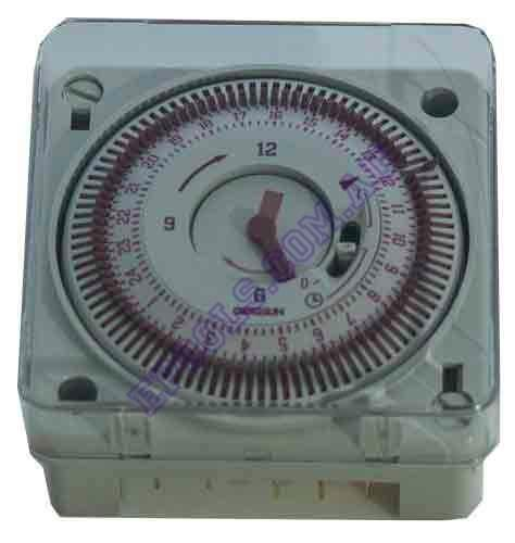 analog timer control clock