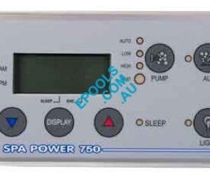 spa power sp750 rectangular touchpad