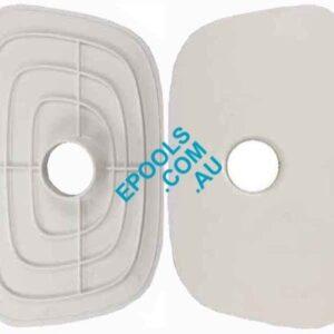Hayward 1089 Skimmer Box Vacuum Plate With Elbow Epools
