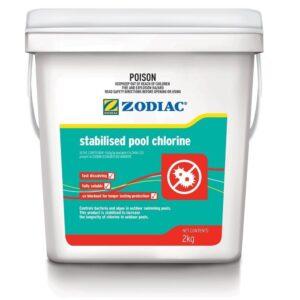swimming pool stabilised chlorine 2kg