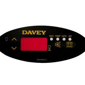 davey spa power sp601 overlay