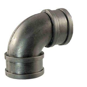 rubber 90deg coupling