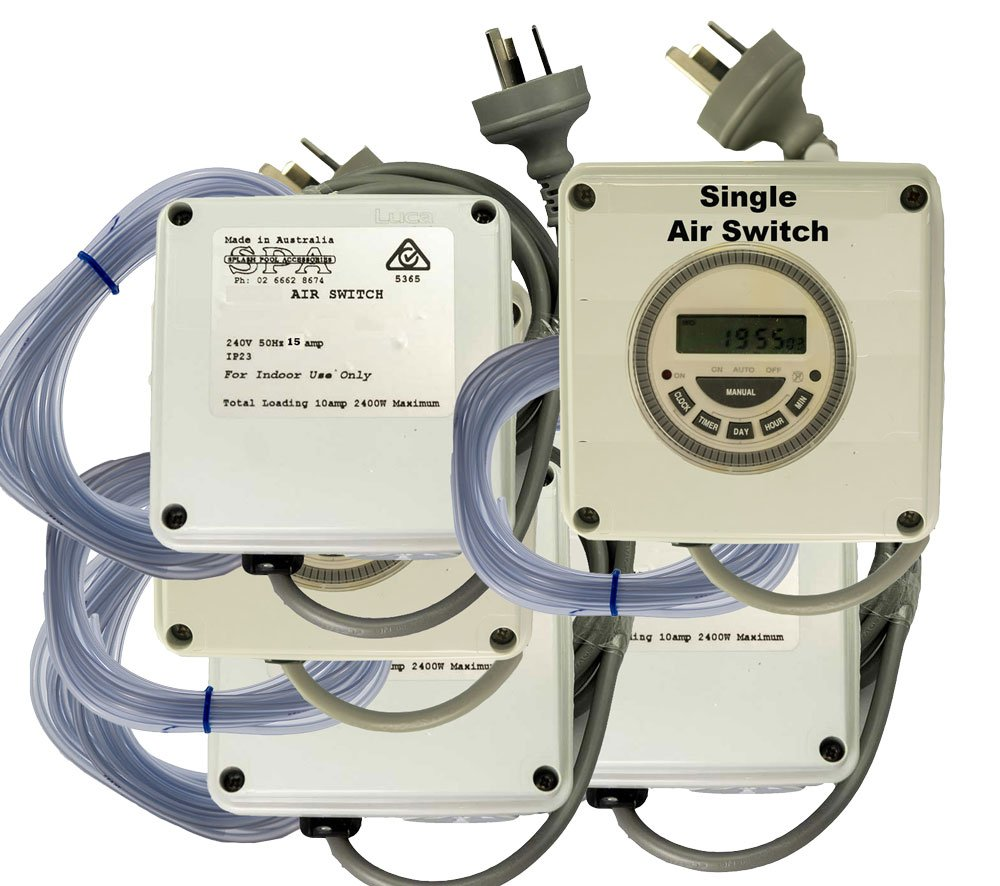 Spa Air Switch Single With & With Out Timers 10 & 15amp Jacuzzi Air Switch Wiring Diagram on