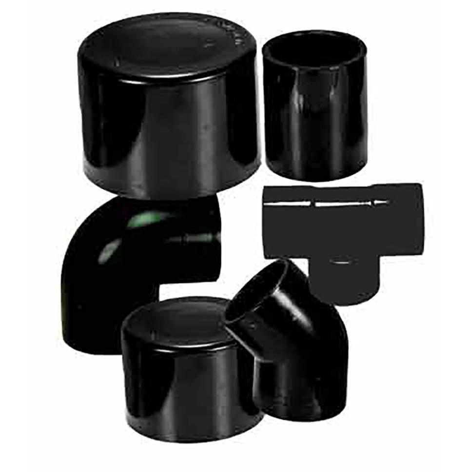 Solar pvc black mm plumbing fittings epools