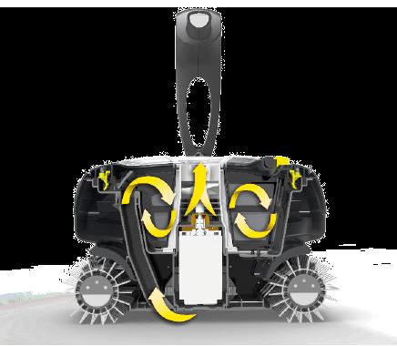 zodiac cx20 robotic pool cleaner waterflow