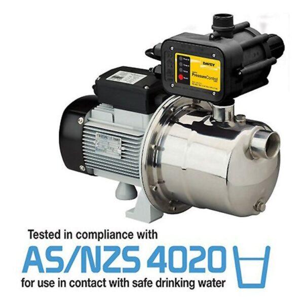 davey silver series SJ60 water tank pump