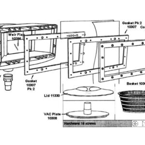 olympic 2004 skimmer box exploded diagram