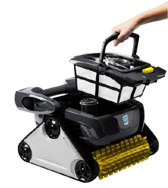 zodiac cx20 robotic pool cleaner lift out canister