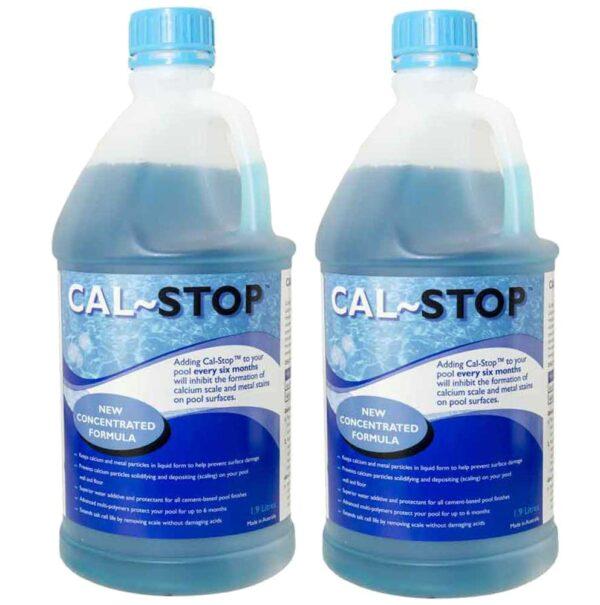 swimming pool calstop calcium eliminator 2 pack