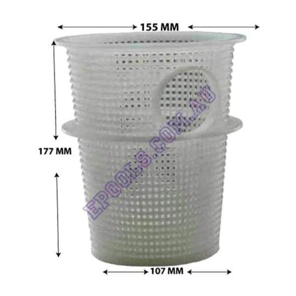 waterlinx pool pump basket