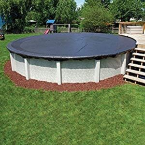 abgal leafstop round above ground pool cover
