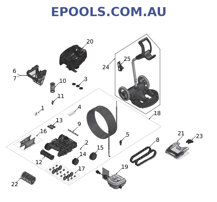 zodiac tx35 parts diagram by epools.com.au