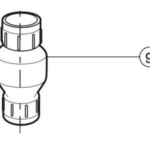 zodiac caretaker pressure relief valve